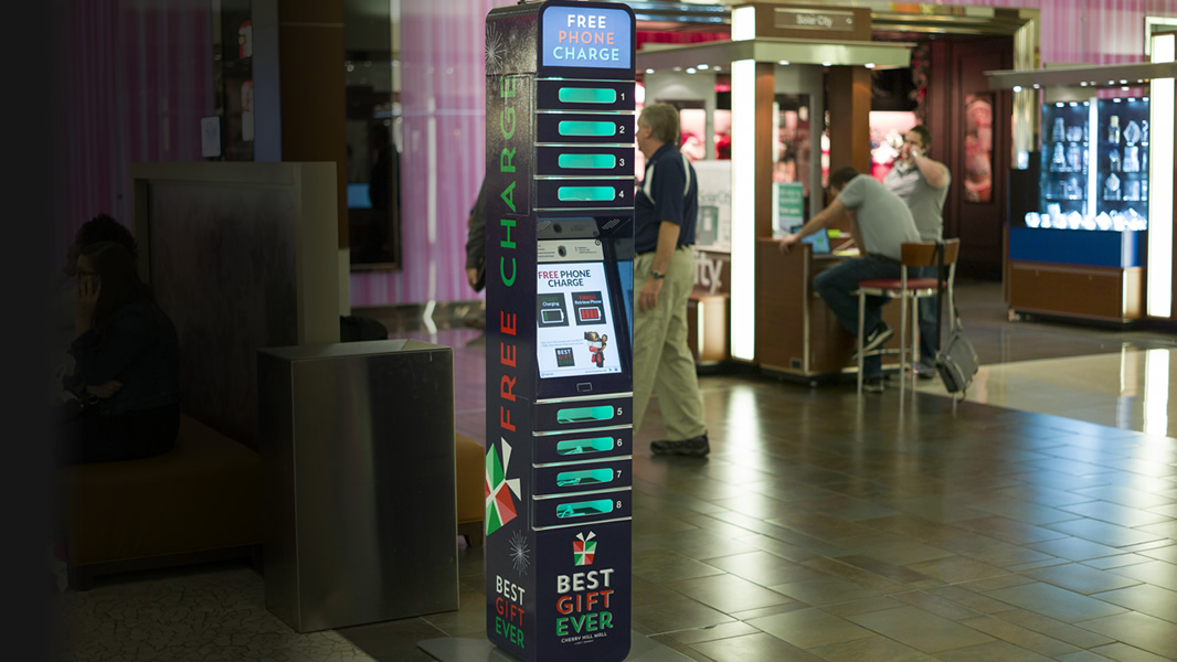 Cell Phone Charging Stations Kiosks Chargeitspot