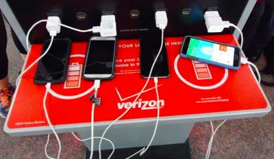 Public Phone Charging Unsafe